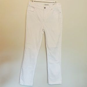 Jones New York White Jeans